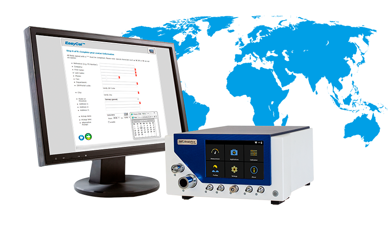 Easycal analyser calibration