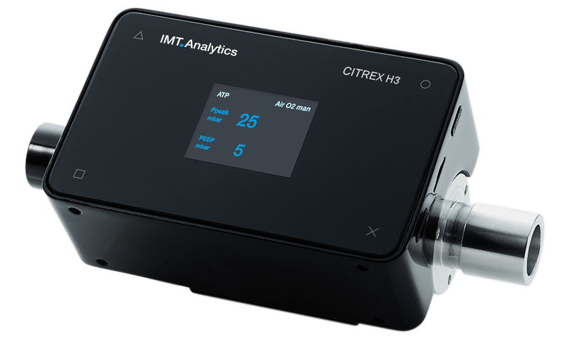 CITREX H3 – the economical gas flow analyser
