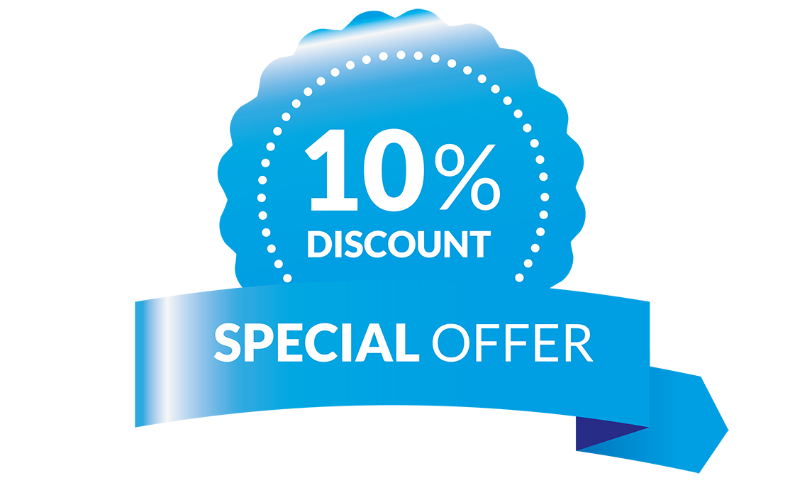Get your personal 10% discount voucher